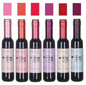 Lip Vinho Tint Febella BM4014 - Kit C/ 6 Unid