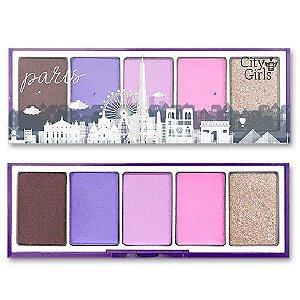 Paleta de Sombra City Girl Paris