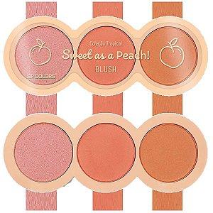 SpColors - Blush  Sweet As a Peach SP204 - Kit C/ 6 Unid