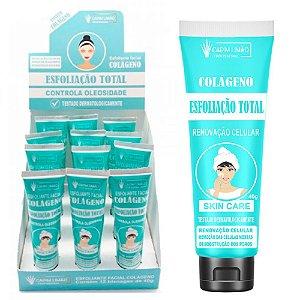 Creme Esfoliação Total Controle de Oleosidade Capim Limão - 12 Unid