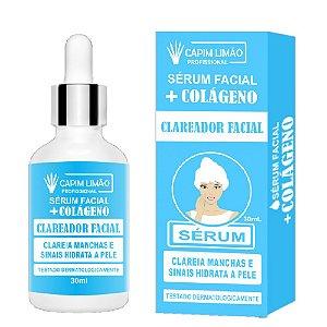 Capim Limão  - Sérum Facial Colágeno Clareador CP17
