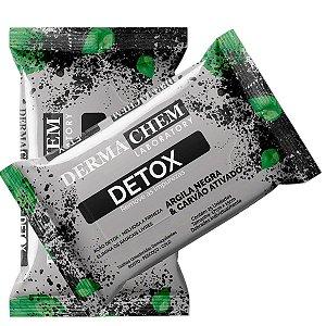 Dermachem - Lenço Demaquilante Purificante Detox - 06073 - 12 Unid