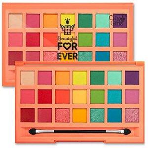 Paleta de Sombras 21 Cores Beautyful For Ever CIty Girl - CG251