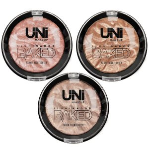 Uni Makeup - ILUMINADOR BAKED BRILHO NATURAL UNDIL32DS