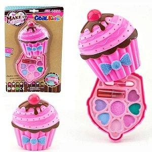 Goal Kids - Maquiagem Infantil Grande Estojo Cupcake GK1356