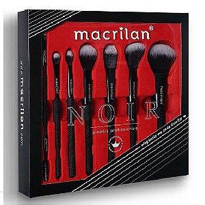 Macrilan - Kit de Pincéis Noir ED009