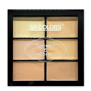 SP ColorsPaleta de Corretivo Facial SP129 - 24 Unid