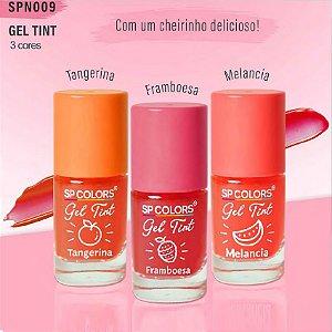 SP Colors - Gel Tint Fragrâncias SPN009 - 03 Unid