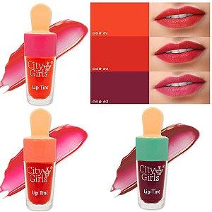 City Girl - Lip Tint Sorvete CG233 - 24 Unid