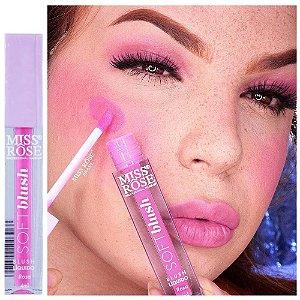 Miss Rose - Soft Blush 3 em 1 - Cor Rosa