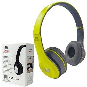 Importados - Fone De Ouvido Bluetooth Sem Fio Verde - Headphone