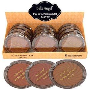 Belle Angel - Pó Bronzeador Matte B003 - 12 Unid