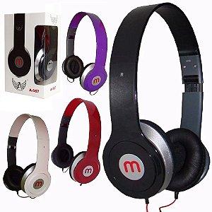Importados - Fone De Ouvido Headphone A-567 Dobrável - 10 Unid
