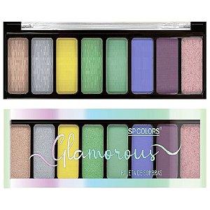 SP Colors - Paleta de Sombras Glamour SP224 Cor A