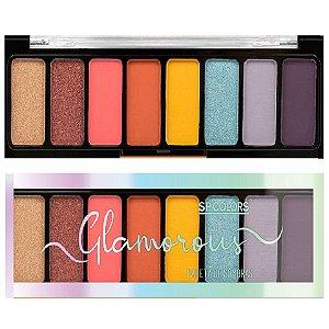 SP Colors - Paleta de Sombras Glamour SP224 Cor B