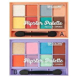 Sp Colors - Paleta de Sombras Hipester SP Colors SP228 - 06 Unid