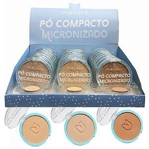Mia Make - Pó Compacto Micronizado Cores Medias 245 - 24 Unid