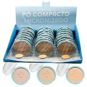 Mia Make - Pó Compacto Micronizado Cores Claras 244 - 24 Unid