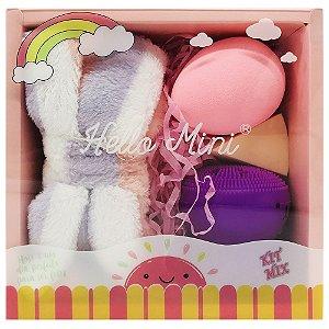 Hello Mini - Kit Skincare ( Faixa + Esponjas ) - Kit 01
