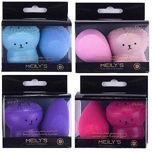 Meily's - Esponjas para Maquiagem Polvo e Gota  MAC21 - 12 Kits