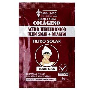 CAPIM LIMÃO Sachê Creme Acido Hilaluronico - unitario