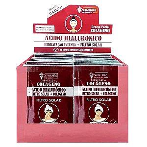 CAPIM LIMÃO Box Sachê Creme Acido Hilaluronico SA03 - 50 Unidades