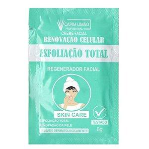 Capim Limão -Sachê Creme Esfoliação Total unitario