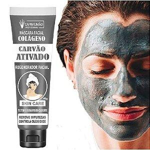 Capim Limão - Creme Facial Carvão Ativado Capim Limão CP09