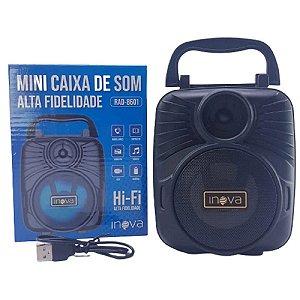 Inova - Mini Caixa de Som  PRETO RAD-8601