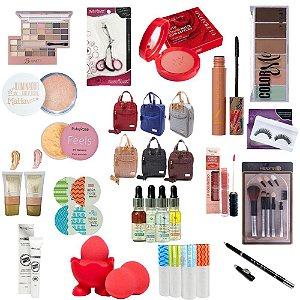 Kit Maquiagem Completo Profissional -18 Itens