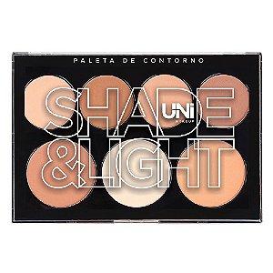 Uni makeup - Paleta de Contorno em Pó Shade & Light