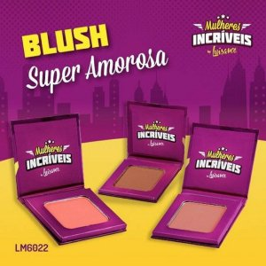 Blush Mulheres Incriveis Luisance  LM6022 ( 03 unidades )