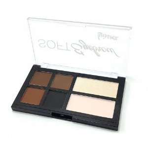 Paleta de Sombras para Sobrancelhas Soft Eyebrow Luisance L969