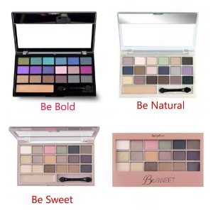 Paleta de Sombras Ruby Rose Linha Be Fabulous, Be Sweet, Be Bold, Be Boom, Be Endless, Be Natural