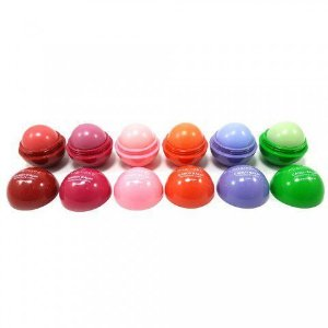 Candy Balm Hidratante Labial Mia Make 13016 - Kit com 6 unidades Sortidas