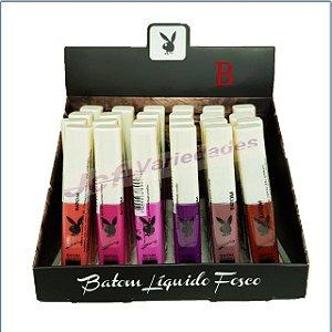 Batom Líquido Matte Playboy Luxury  Hb87406 - B ( 06 Unidades )