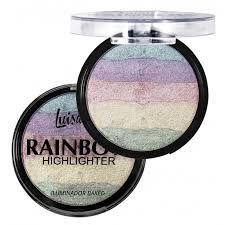 Luisance - Iluminador Baked Rainbow Highlighter L3052 ( 01 Unidades )
