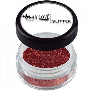 Sombra Glitter Max Love Cor 20 Vermelha