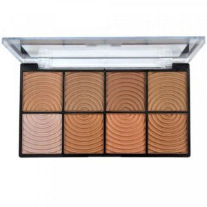 Paleta Bronzer Freedom 8 Cores Ruby Rose HB7216