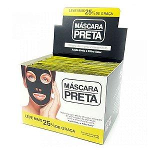 Máscara Negra para Cravos, Espinhas e Manchas Face Beautyful ( 50 Unidades )