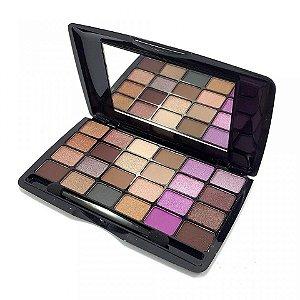 Luisance - Paleta de sombras Matte e Cintilantes 24 Cores L013B Standard