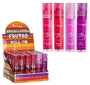Bella Femme - Brilho Labial Rolon Frutas BF10013 ( 36 Unidades )