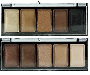 Paletas de Sombras Nudes Queen #01 ( 02 Unidades )