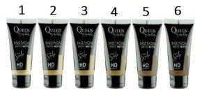 Base Matte Studio HD Queen ( 06 Unidades )