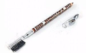 Lápis Universal para Sobrancelhas com Escova, Pente e Apontador  HB94742 ( 12 Unidades )