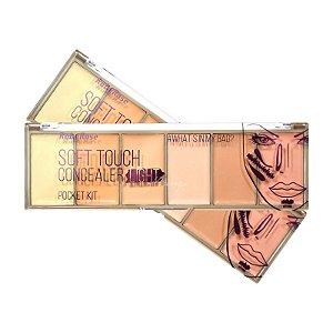 Paleta de Corretivo e Contorno Facial Light Ruby Rose HB8096L - 12 Unidades