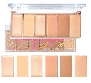 Paleta de Contorno Beauty Complex Light & Dark HB-7518 Ruby Rose