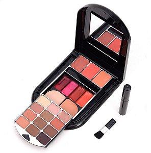 Estojo de Maquiagem Matte Oval Vivai 2145.4.2