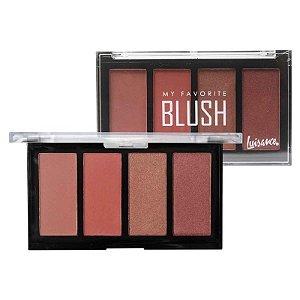 Paleta de Blush Matte My Favorite L2017 B