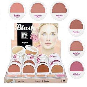 Ruby Rose - Display de Blush   HB 6104 Make Up Art ( 36 Unidades e Provadores )